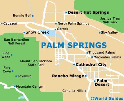 Top Best Palm Springs Map Ideas On Pinterest Map Of Palm - Us hot springs map