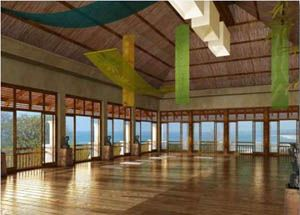 Yoga space at the Blue Spirit Retreat in Nosara, Costa Rica...: Retreat, Nosara Costa Rica, Sacred Spaces, Classic Nia, Beautiful Places, Meditation Rooms, Spirit, Yoga Rooms