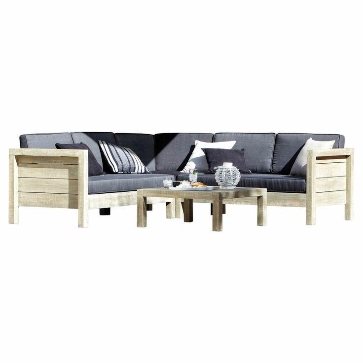 Terrace? - Del Terra Texel Lounge Corner Set - Masters Home Improvement