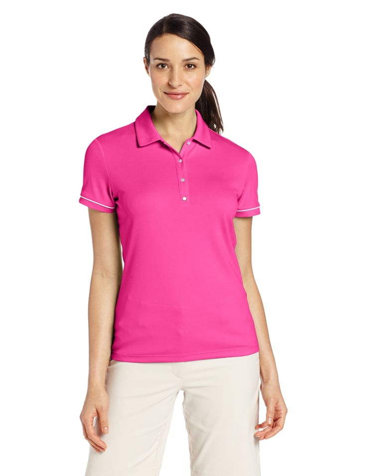 Packed with technology this womens NA tech golf polo shirt by Puma will help you flourish on the golf course