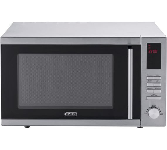 Buy De'Longhi AM9 Standard Microwave - Silver at Argos.co.uk - Your Online Shop for Microwaves, Kitchen electricals, Home and garden.