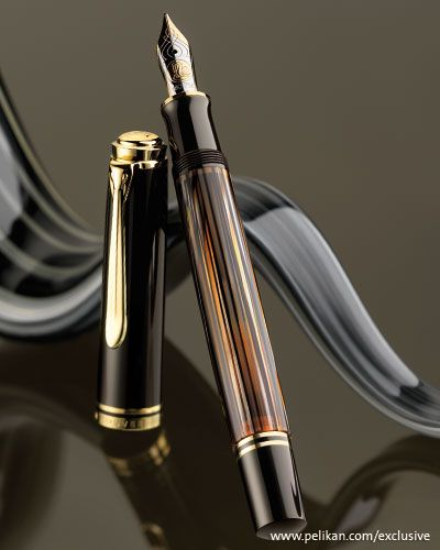 Special Edition Pelikan fountain pen Souverän 800 tortoiseshell-brown
