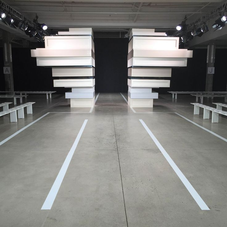 1000 images about runway space on pinterest chanel