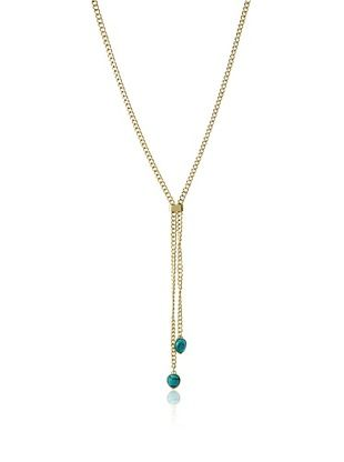 59% OFF Jules Smith Faux Turquoise Lariat Necklace
