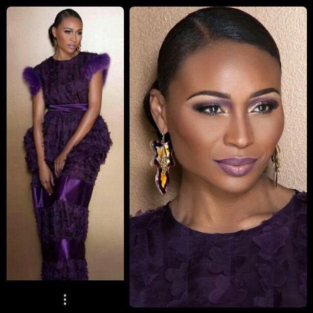 Cynthia Bailey make-up by Jeremy Dell