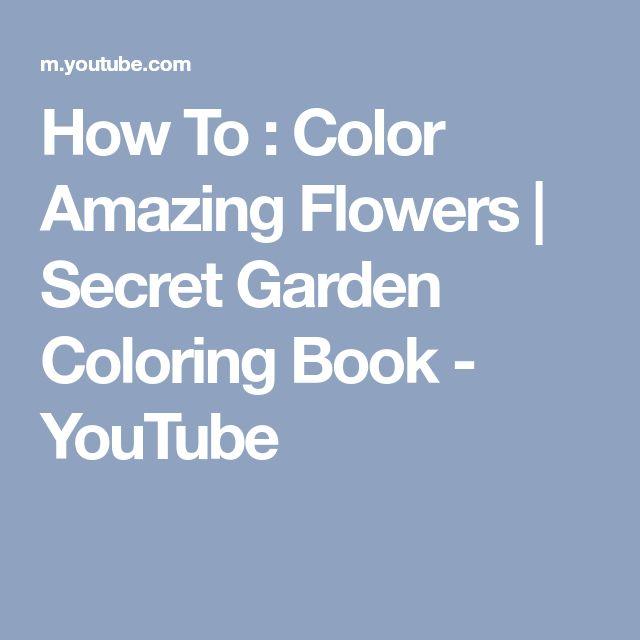 Best 25 Secret Garden Coloring Book Ideas On Pinterest