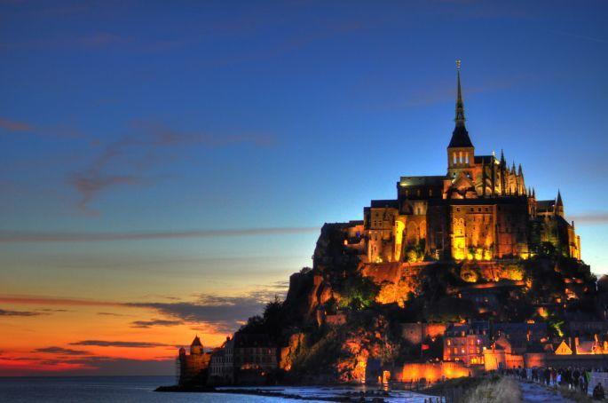 Le Mont Saint-Michel, Mike Norton, Flickr