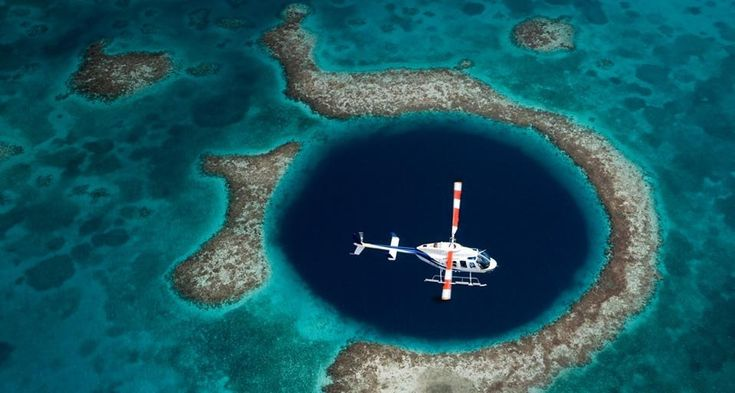 Great Blue Hole (submarine sinkhole), Belize