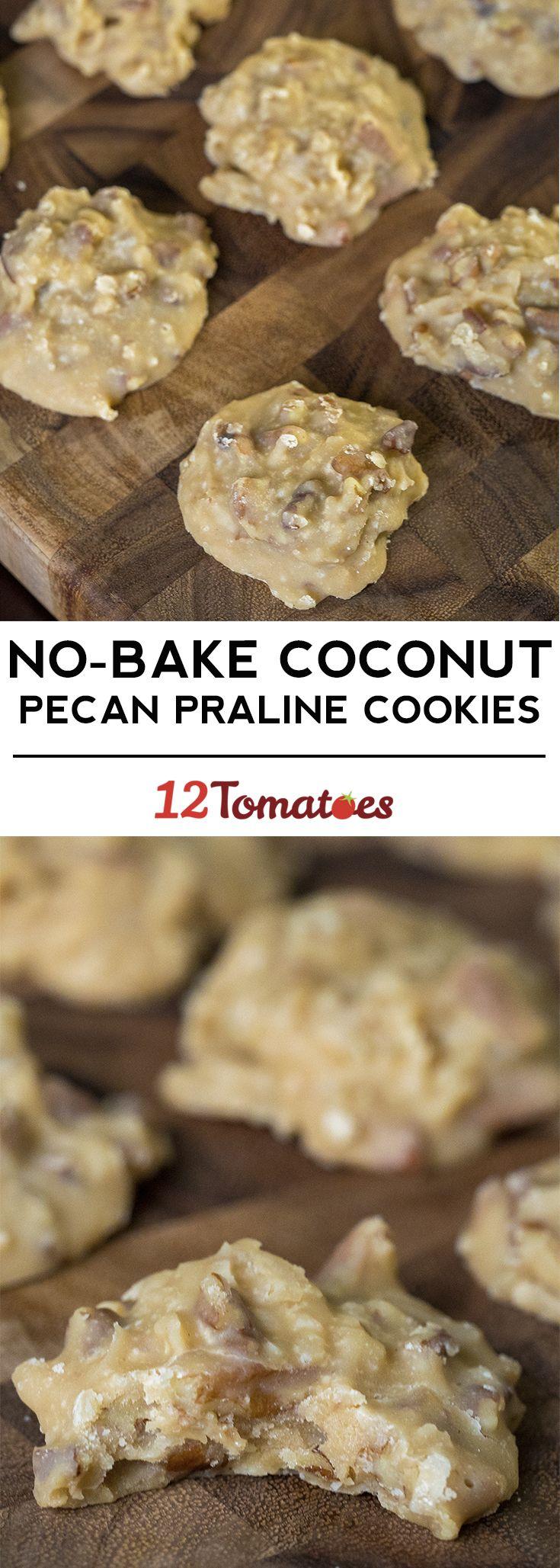 Coconut Pecan Praline Cookies