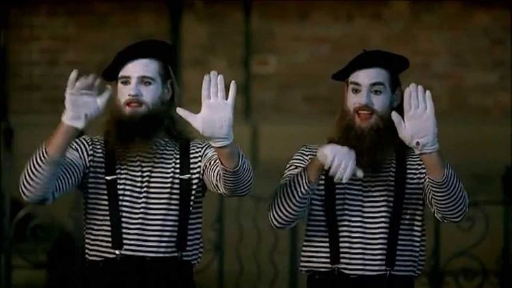 Canadian Club Mime Artist with The Nelson Twins - #nelsontwins #comedy #funny #comedians
