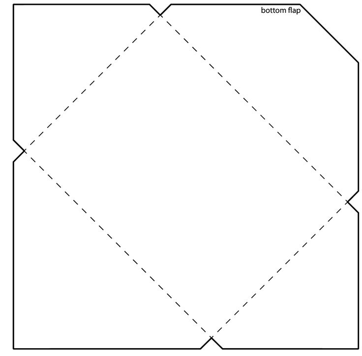 printable mini envelope template pdf