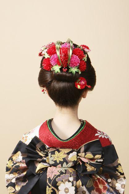 新日本髪~成人式~ | 東京都・丸の内・日本橋の美容室 k-pointのヘアスタイル | Rasysa(らしさ)