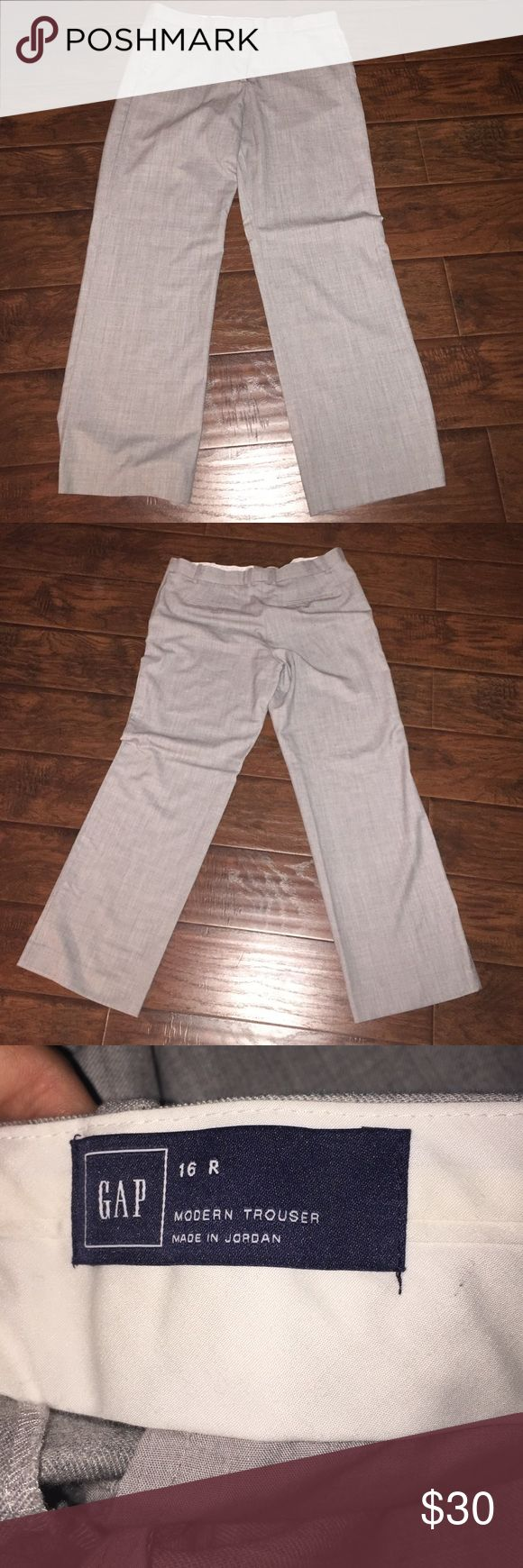 GAP Trousers 16R GAP Trousers 16R, modern fit. New without tags. GAP Pants Trousers