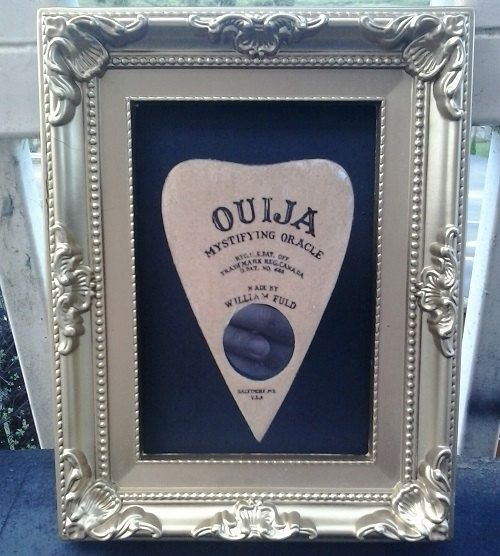 Ornate Framed and 3D Mounted Planchette by 6DistressedMemories9