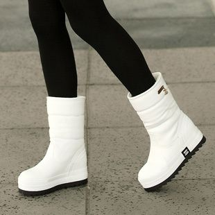 17 best ideas about White Snow Boots on Pinterest | Fur boots ...