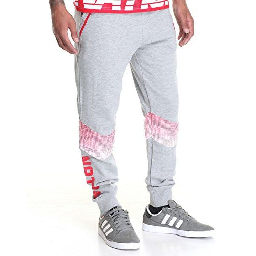 (パリッシュ) Parish メンズ ボトムス スウェットパンツ halftone sweatpant 並行輸入品  新品【取り寄せ商品のため、お届けまでに2週間前後かかります。】 カラー:Red 素材:100% Cotton