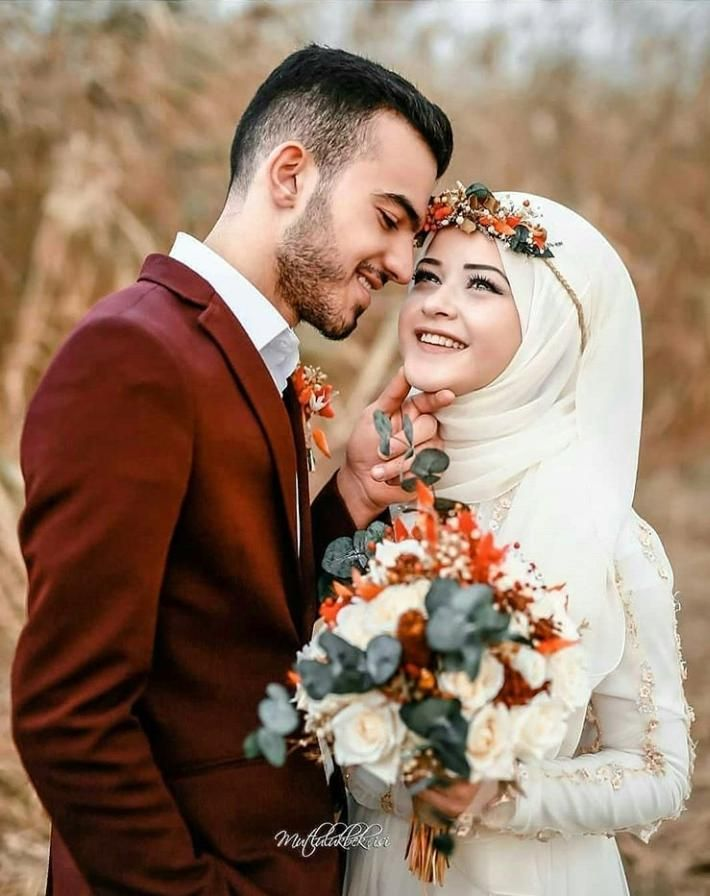 Hijab Wedding Dresses 30 Islamic Wedding Dresses For Brides In 2020 Muslimah Wedding Muslim Couple Photography Muslim Wedding Photography