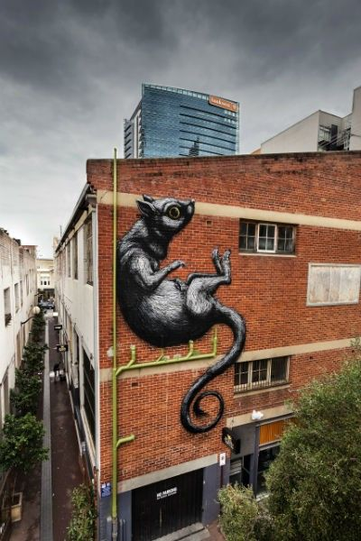 We Love Perth reviews the PUBLIC street art walking tours run by FORM. Featuring local and international artists including Amok Island, Anya Brock, Beastman, E.L.K., Gaia, Hyuro, Nicolas Romero, Phlegm, ROA, Stormie Mills, Vans the Omega and more.