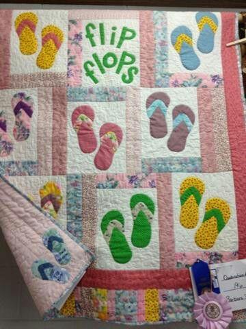 Flip flops quilt