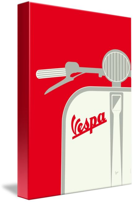 """""""MY+VESPA++FROM+ITALY+WITH+LOVE++RED""""+by+Chungkong+Art,+Amsterdam+//+From+Italy+with+love:+my+magnificent+Vespa+scooter.Love+my+restored+classic+Italian+bike,+its+full+beauty.+These+posters+are+a+tribute.Tag+set:minimal,+vespa,+piaggio,+scooter,+motor,+bike,+art,+poster,+motion,+graphic,+design,+chungkong,+simple,+cult,+print,+retro,+icon,+st...+//+Imagekind.com+--+Buy+stunning+fine+art+prints,+framed+prints+and+canvas+prints+directly+from+independent+working+artists+and+photographers."""