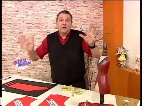 Hermenegildo Zampar - Bienvenidas TV - Programa del 23 de Julio de 2012 Transformar y Coser una Manga.