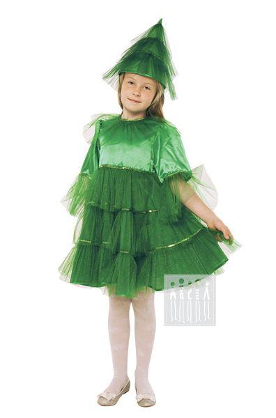 Карнавальный костюм Елка (платье) Купить детский карнавальный костюм Ёлки…