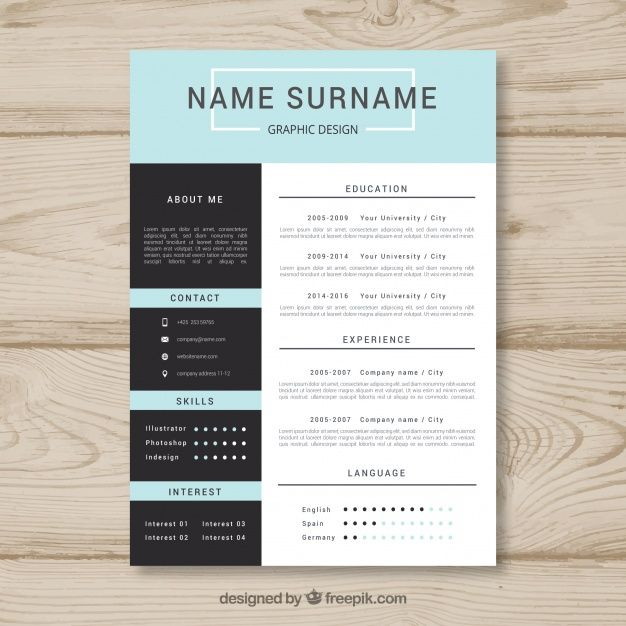 Download Elegant Resume Template For Free Resume Template