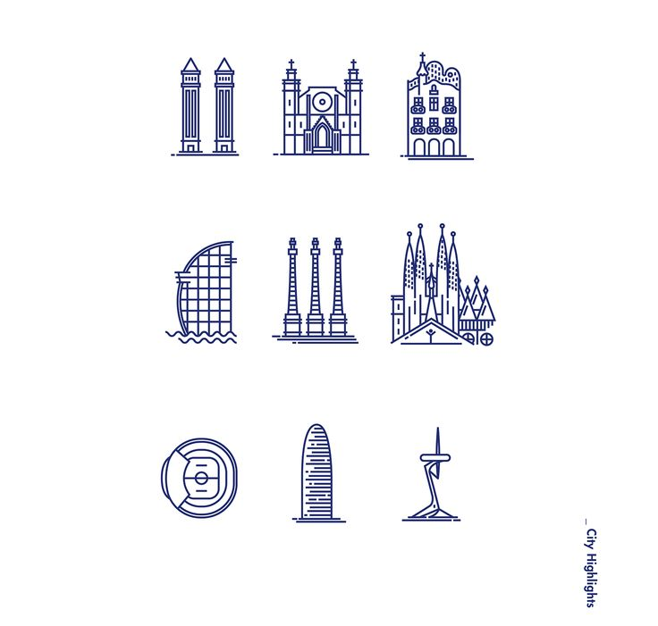 icons of Barcelona bcn