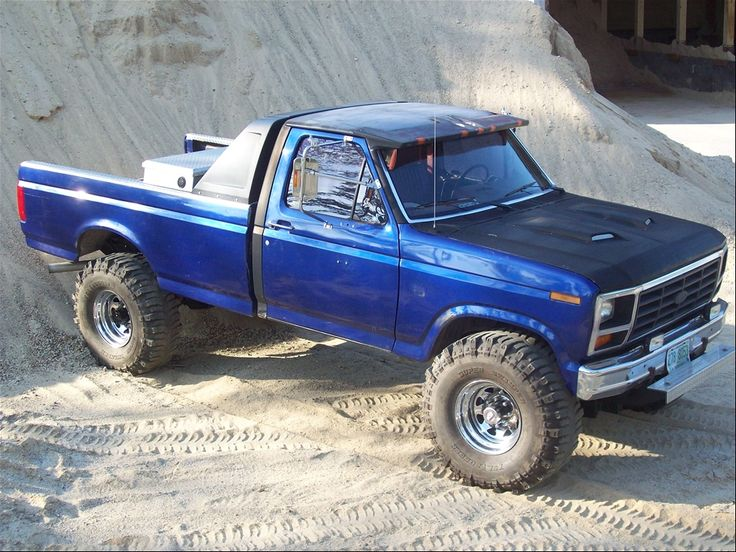 86 Ford F-150! beautiful! | vehicles i want | Pinterest ...