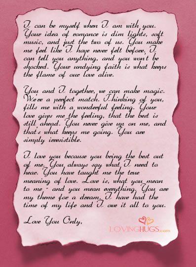 17 best love letter templates images on pinterest | love letters