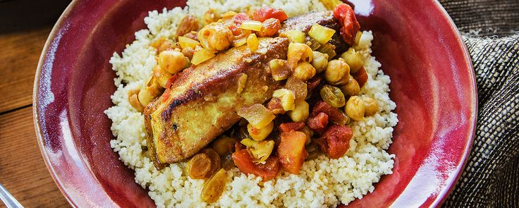 Moroccan Braised Country Pork Ribs with Garbanzo Beans Recipe - Green Valley