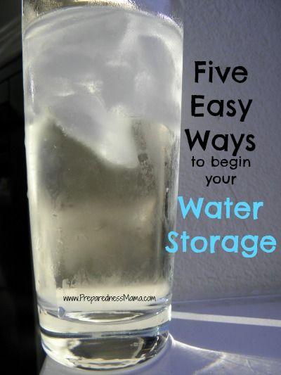 Day 9 Preparedness Challenge: Five Easy Ways to Begin Water Storage - PreparednessMama.com