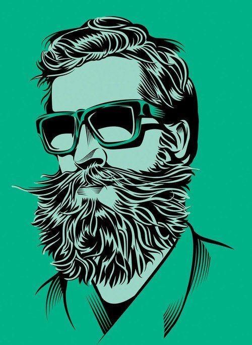 Una barba épica.