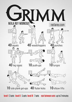 Grimm workout