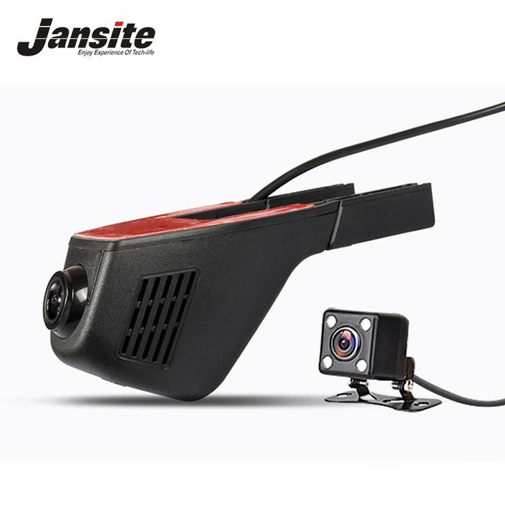 Jansite Registrator Coche Dvr Mini Cámara Oculta Wifi Coche DashCam grabador de vídeo videocámara full hd 1080 p lente dual dvr sony 322