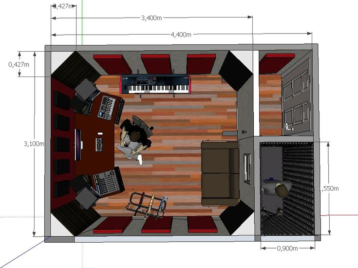 home recording studio design - Google Search