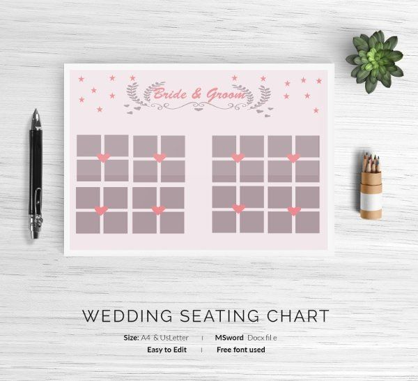 Church Seating Chart Template New 12 Wedding Seating Charts Templates Modern Luxury In 2020 Seating Chart Template Seating Chart Wedding Template Seating Chart Wedding