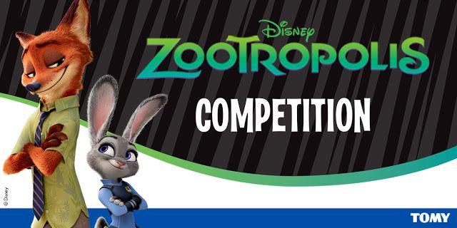 My Monkeys Don't Sit Still : Disney Zootropolis Pre Screening Ticket - Giveaway...
