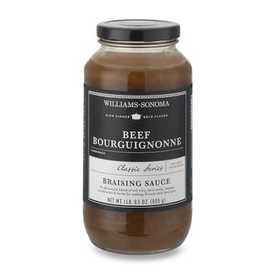 Beef Bourguignonne Braising Base #williamssonoma