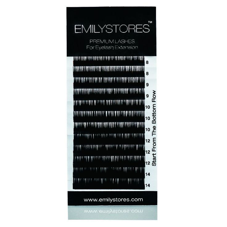 EMILYSTORES Eyelash Extensions Individual Loose Signature Mink Eyelash C Curl Thickness 0.07mm Length 8mm 9mm 10mm 12mm 14mm Silk Lashes Assort Mixed In One Tray ** Want to know more, click on the image.