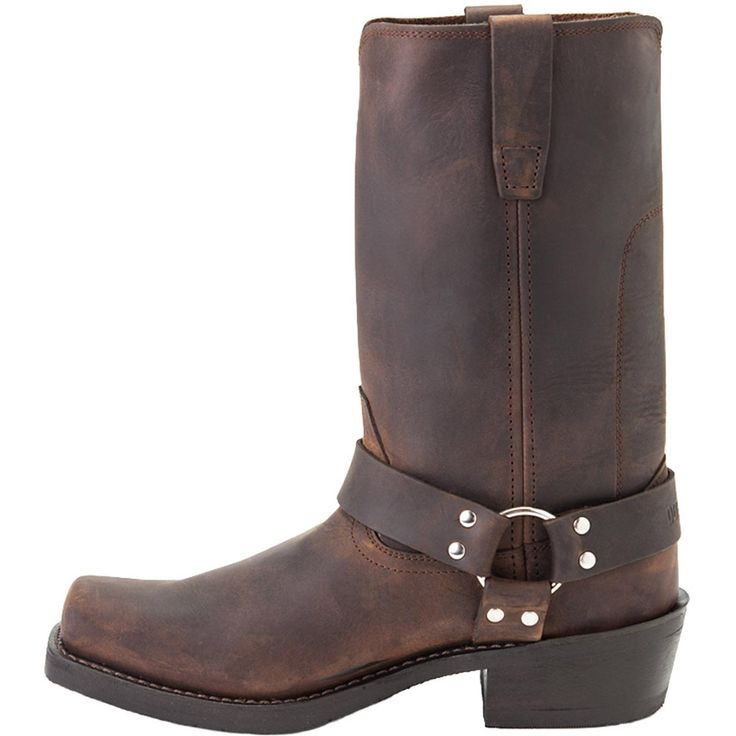 """Durango Boot: Men's 11"""" Brown Leather Harness Boots - Style #DB594 - Durango Boot Company"""
