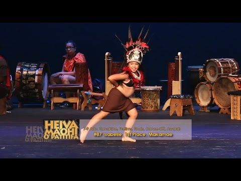 2016 Heiva Maohi O Patitifa, #87 Isabelle, 1st Place 7-9 and Jr. Overall,  Makamae - YouTube