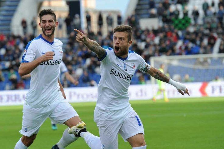 Atalanta 16, Roberto Gagliardini #4 y Alejandro Gomez #10 y