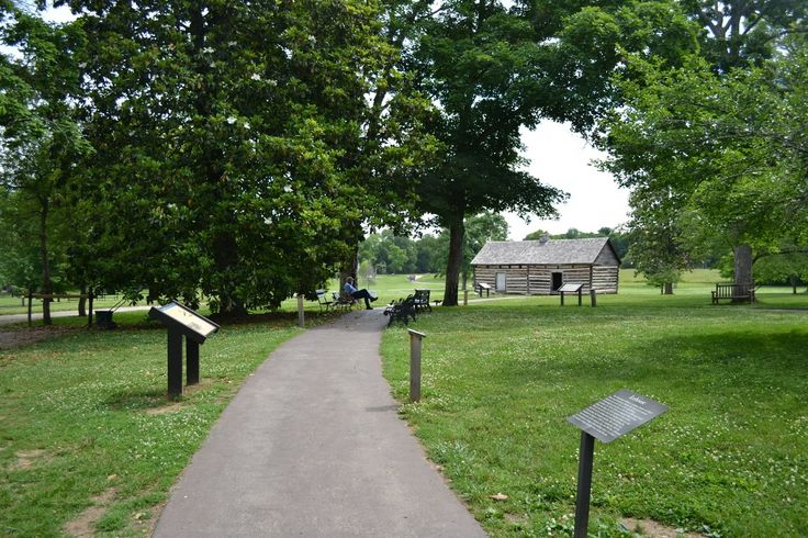 Andrew Jackson's Hermitage, Hermitage, TN (Эрмитаж - поместье президента Эндрю Джексона, Эрмитаж, Теннесси)