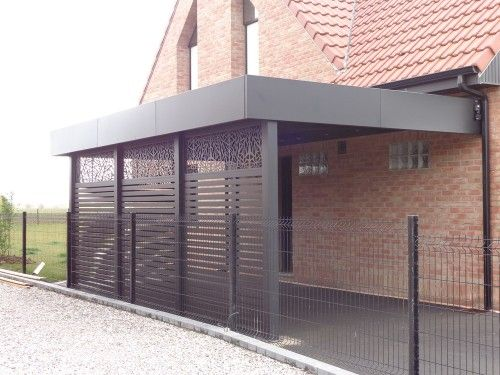 Carport Aluminium Concept, c'est la constuction et l'installation de carports brise-vues en aluminium dans la région Nord-Pas-de-Calais