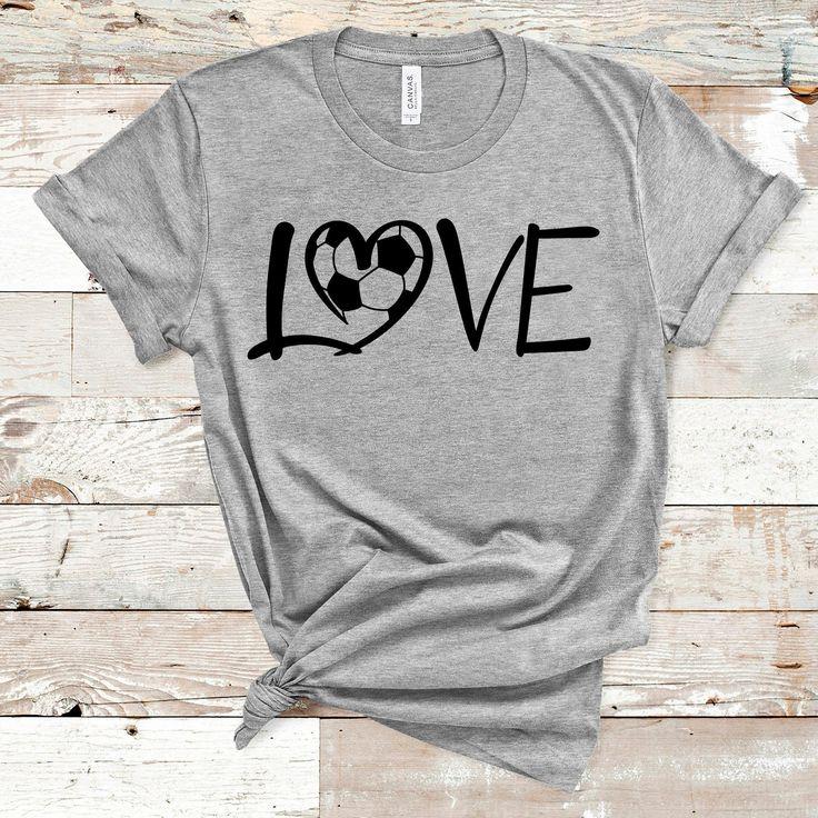 Download Soccer Love SVG, Soccer Love Shirt SVG, Soccer Heart Shirt ...