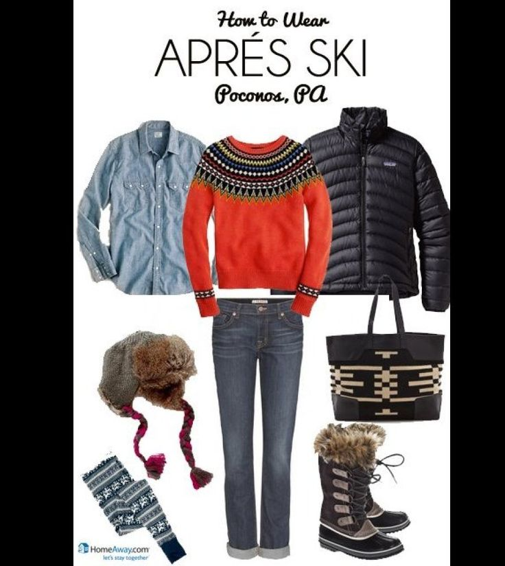 What to Wear for Any Ski Vacation via @Huffington Post