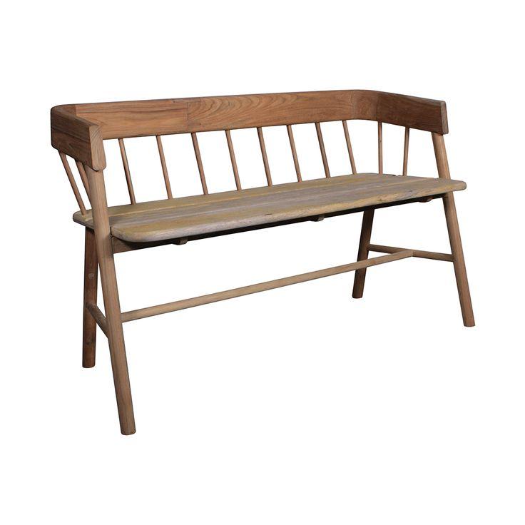 Wooden Natural Bench • WOO Design