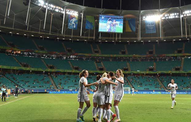 Equipes de France - JO 2016 : les Bleues en quarts (3-0) ! - FFF