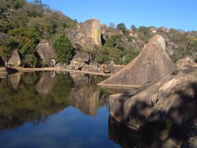 Maleme Dam Matopos National Park Bulawayo Zimbabwe